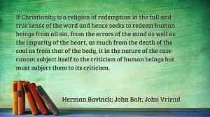 Bavinck quote