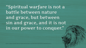 Horton on Spiritual warfare
