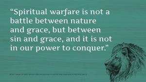 Horton on Spiritual warfare