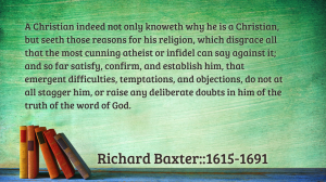Baxter Quote