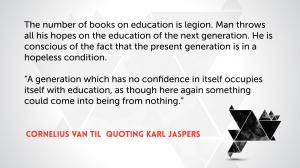 Van Til and Jaspers